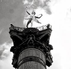 Colonne commémorative dite Colonne de Juillet - paris