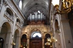 Eglise Saint-Paul-Saint-Louis - Português: Interior da Igreja de Sao Paulo e Sao Luis