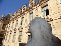 Hôtel Béthune-Sully - English: The famous hôtel of Paris, house of the Superintendent of Finances to King Henri IV and where many historical happenings had place.