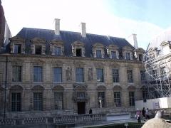 Hôtel du Petit-Sully - façade de l'hôtel de Sully