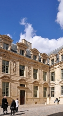 Hôtel du Petit-Sully - English: Hôtel de Sully located at 7 place des Vosges in the 4th arrondissement of Paris in France. The building is classified as historical monument by the French Ministry of Culture.