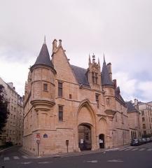 Hôtel de Sens - English: Hôtel de Sens, Paris IVe arrondissement, France.