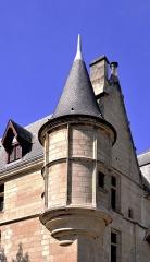 Hôtel de Sens - English: Turret on the souht-est corner of Hôtel de Sens located at 4th arrondissement of Paris, France