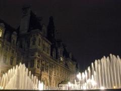 Hôtel de ville - vue de nuit