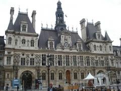 Hôtel de ville - Hôtel de Ville de Paris, Place de l'Hôtel-de-Ville, Rue de Rivoli, Rue de Lobau