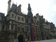 Hôtel de ville - Hôtel de ville de Paris (Île-de-France, France).
