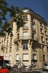 Immeuble - English: The building at 24 quai de Béthune in Paris 4th district
