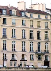 Immeuble - Français:   Quai d\'Orléans (n°28-30-32 façade) - Paris IV