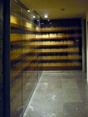 Mémorial du Martyr juif inconnu, actuel Centre de documentation juive contemporaine - English: Photo of the Fichier Juif (Jewish File) at the Mémorial de la Shoah (Shoah Memorial), at 17 rue Geoffroy l'Asnier, 75004 Paris
