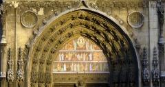 Eglise Saint-Laurent - Français:   Église Saint-Laurent (tympan) - Paris X