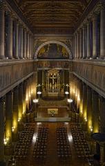 Eglise Saint-Vincent-de-Paul - Français:   Église Saint-Vincent-de-Paul, Paris 10 arrdt, France. Vue depuis la galerie