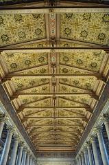 Eglise Saint-Vincent-de-Paul - Français:   Plafond de l\'Église Saint-Vincent-de-Paul, Paris 10 arrdt, France. Vue depuis la galerie.