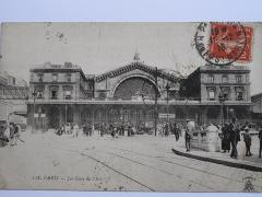 Gare de l'Est - English: Paris-Est station in the yard of main lines.