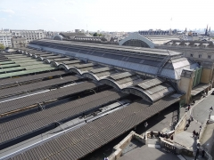 Gare de l'Est - Français:   Gare de l\'Est - vue arrière