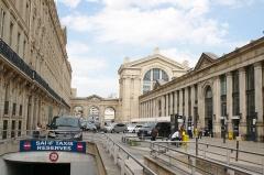 Gare du Nord - Facade du Nord-Ouest de la Gare du Nord à Paris.