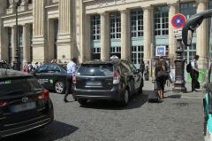 Gare du Nord - Vue de la façade de la Gare du Nord à Paris en France.