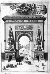 Porte Saint-Denis - French engraver, architect, cartographer and medal engraver