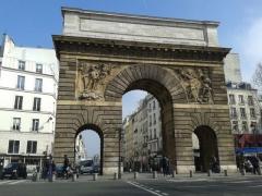 Porte Saint-Martin - Français:   Porte Saint-Martin à Paris (Île-de-France, France).