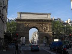 Porte Saint-Martin - Français:   Pierre Bullet: Porte Saint-Martin, Paris.