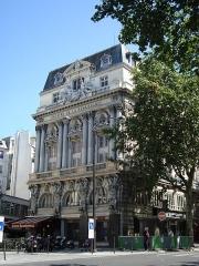 Théâtre de la Renaissance - English: Théâtre de la Renaissance in Paris on the Boulevard Saint-Martin