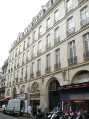Immeuble - Français:   99 fr:Rue_du_Faubourg-Saint-Denis à Paris, France.