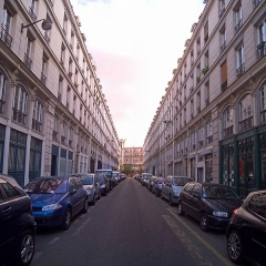 Immeubles - English: Rue des Immeubles-Industriels, Paris XIe arrondissement, France.