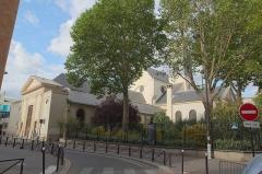 Maison - Français:   Église Sainte Marguerite, rue de la Roquette, en août 2012.