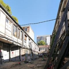 Cour de l'Industrie - English: Cour de l'Industrie, Paris 11th arrondissement, France.