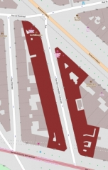 Immeubles - English: Immeubles situés rue des Immeubles-Industriels Buildings: 2 to 16, 1 to 17 rue des Immeubles-Industriels; 76 rue de Montreuil; 262 to 266 boulevard Voltaire; 307, 309 rue du Faubourg-Saint-Antoine.
