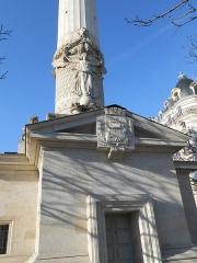 Barrière du Trône - Deutsch: Paris, Place de la Nation, Barrière du Trône