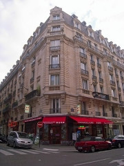 Charcuterie - English: Building, corner of the 4bis rue Parrot and rue Émile-Gilbert, Paris XIIe arrondissement, France.