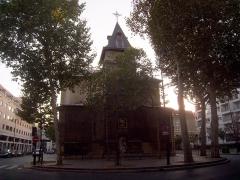 Eglise Notre-Dame-de-Bercy - English: Église Notre-Dame-de-la-Nativité de Bercy, Paris XIIe arrondissement, France.