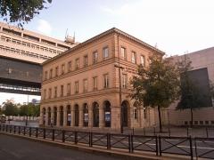 Pavillons de l'ancienne douane et de la Barrière d'eau - English: Pavillon de l'ancienne douane, Paris XIIe arrondissement, France.