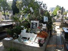 Cimetière Montparnasse - English: Paris, France. Cimetiere du Montparnasse. (Grave of Gainsbourg-5) (PA00086638)