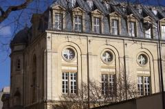 Collège des jésuites de l'Immaculée Conception - Français:   Collège de l\'Immaculée Conception (dit aussi Collège de Vaugirard), 391 rue de Vaugirard 1 rue Lacretelle (Inscrit, 1990)
