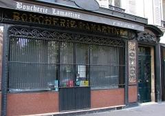 Boucherie Lamartine - Français:   Boucherie Lamartine - 172 avenue Victor Hugo - Paris 16 Devanture de la boutique