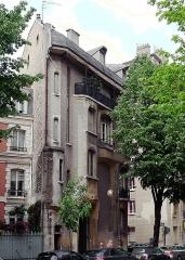 Ancien hôtel particulier d'Hector Guimard - Français:   Avenue Mozart (n°122: hôtel particulier d\'Hector Guimard) - Paris XVI