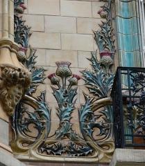 Immeuble Les Chardons - Français:   \