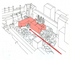 Villa Jeanneret-Raaf, actuellement Fondation Le Corbusier - English: Emplazamiento demarcado