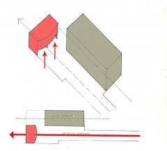 Villa La Roche, actuellement Fondation Le Corbusier - English: Contraste