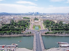 Palais de Chaillot - This building is classé au titre des Monuments Historiques. It is indexed in the Base Mérimée, a database of architectural heritage maintained by the French Ministry of Culture,under the reference PA00086706 .