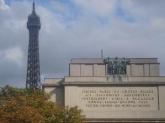 Palais de Chaillot - Français:   Palais de Chaillot (Classé)