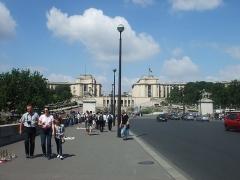 Palais de Chaillot - Français:   Palais de Chaillot à Paris (Île-de-France, France).
