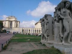 Palais de Chaillot - Palais de Chaillot à Paris (Île-de-France, France).