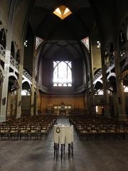 Eglise Saint-Jean-de-Montmartre - Intérieur de l'église Saint-Jean de Montmartre à Paris (75018).