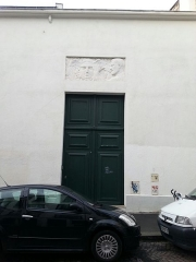 Immeuble (Hôtel Lejeune) - Français:   Paris 18ème arrondissement - Hôtel Lejeune, entrée rue Simon-Dereure