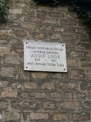 Maison de Tristan Tzara - Français:   Maison de Tristan Tzara
