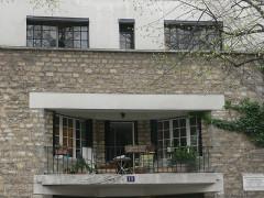 Maison de Tristan Tzara - Français:   Paris - maison Tristan Tzara
