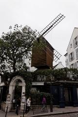 Moulin de la Galette -  Le Le moulin Radet à Paris.