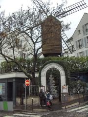 Moulin de la Galette - Français:   Moulin de la galette